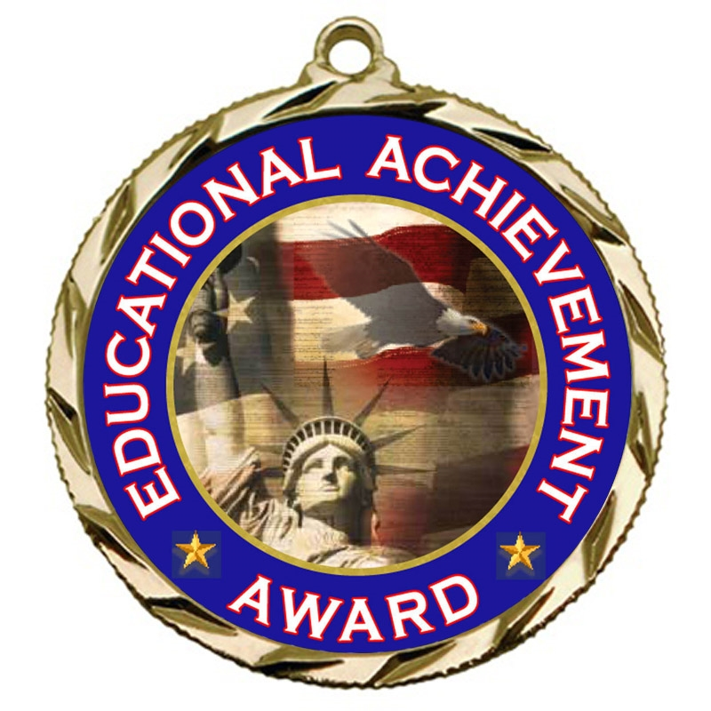 Educational Achievement Award Medal