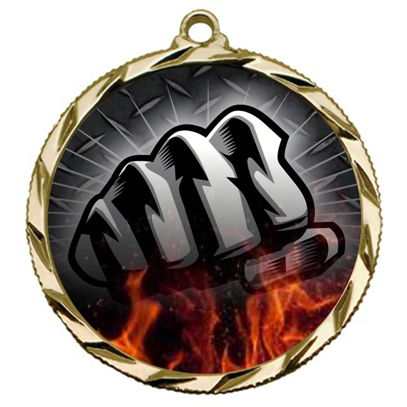Martial Arts Fist Medal