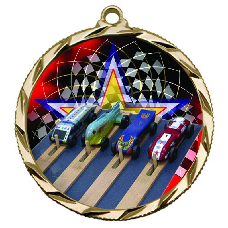 Pinewood Derby Medal