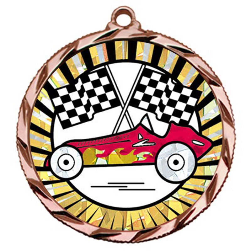 SUN Pinewood Derby Medal