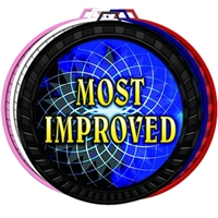 "2-1/2"" Color Most Improved Medal 052-FCL512"