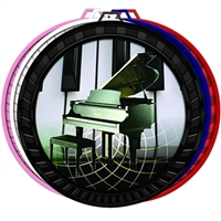 "2-1/2"" Color Piano Medal 052-FCL524"