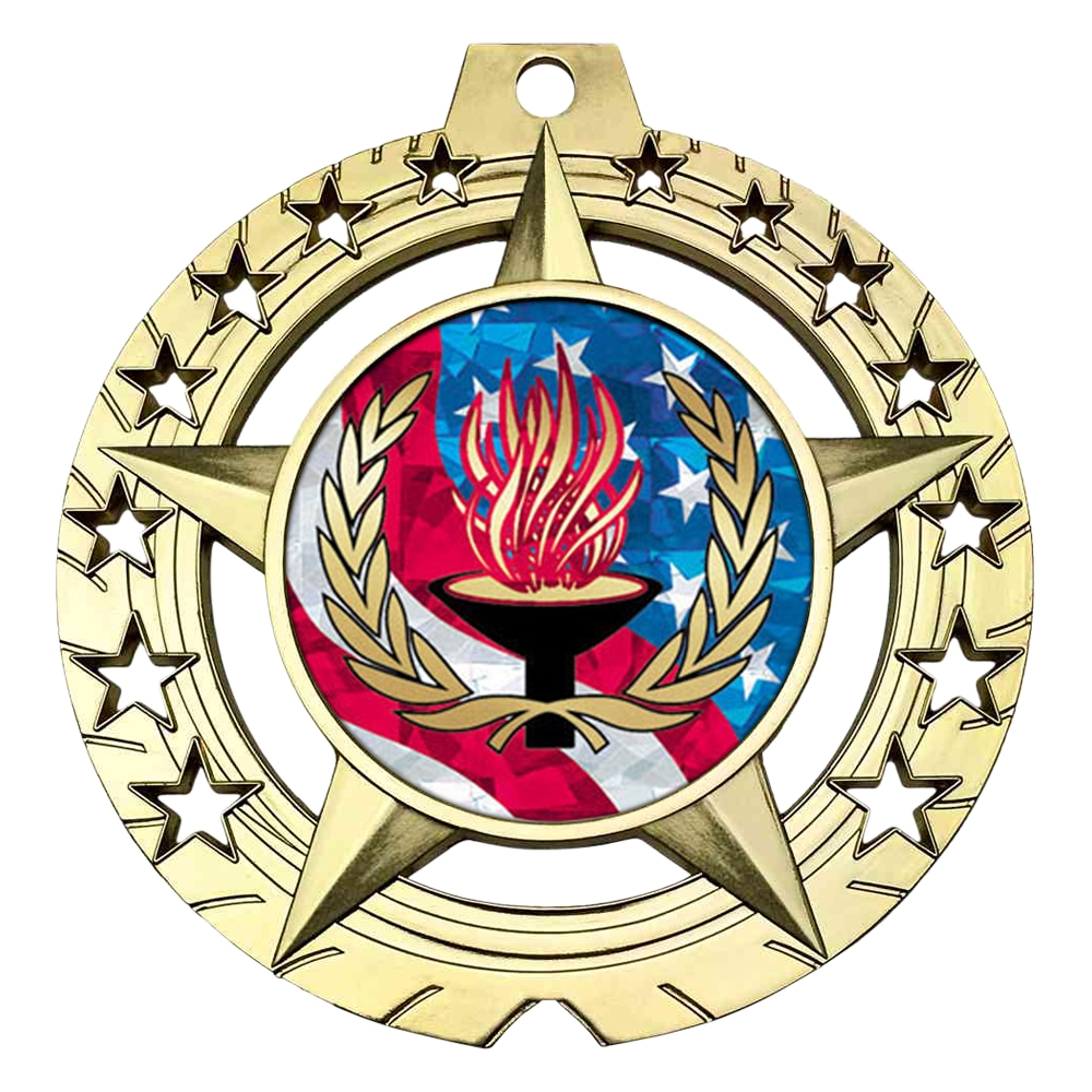 "Large 3-3/4""  Victory Medal"