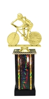 Moonbeam Column Riser Female Cycling Trophy in 11 Color Options