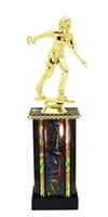 Moonbeam Column Riser Female Horseshoe Trophy in 11 Color Options