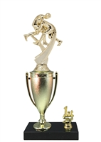 1st - 5th Place Cup Riser Wrestling Trophy