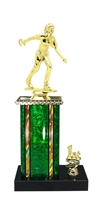 1st - 5th Place Moonbeam Riser Female Horseshoe Trophy in 11 Color Options