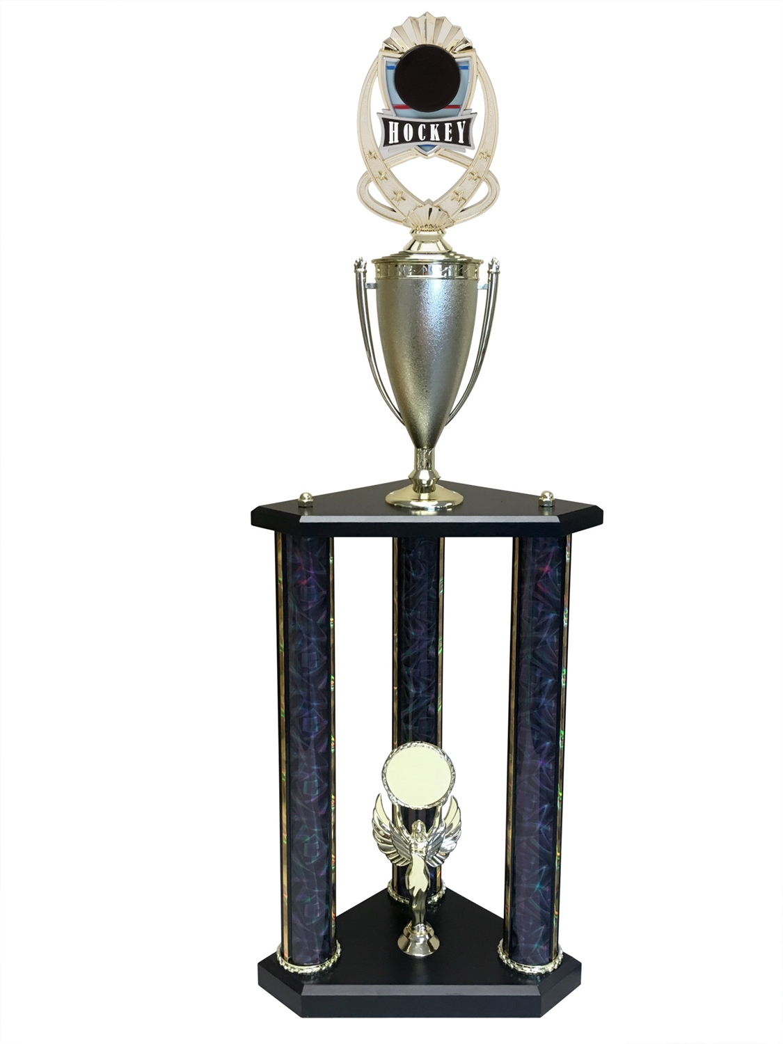 3 Post Hockey Trophy in 11 colors & 3 sizes