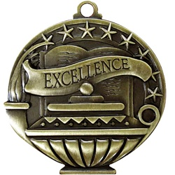 "2"" Excellence Medal APM725"