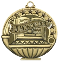 "2"" APM Academic A-B Honor Roll Medal APM737"