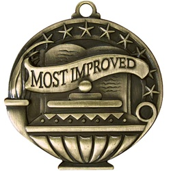 "2"" APM Academic Most Improved Medal APM749"