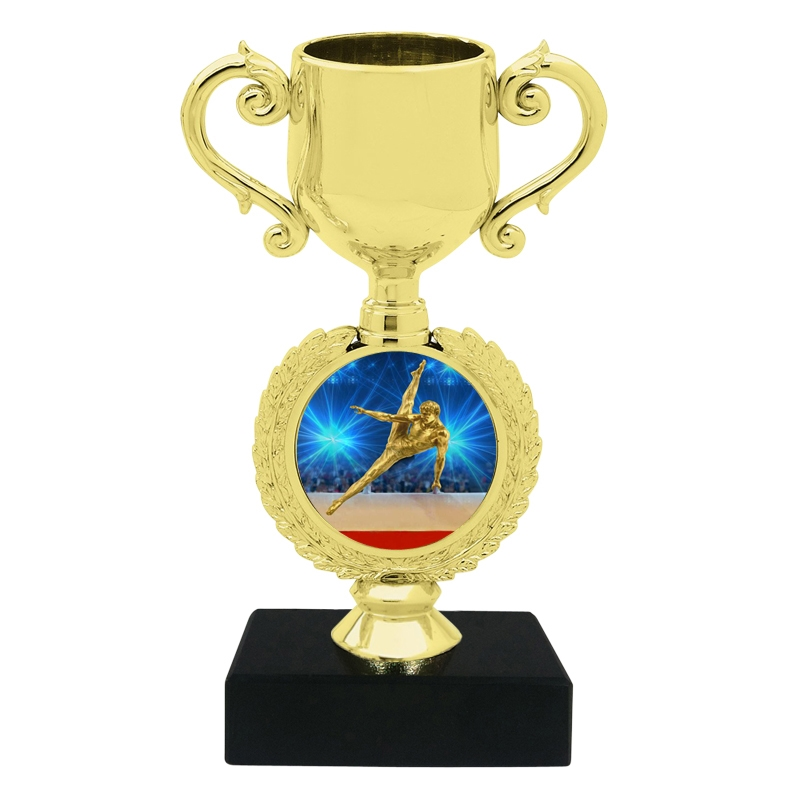 Small Male Gymnastics Trophy Cup