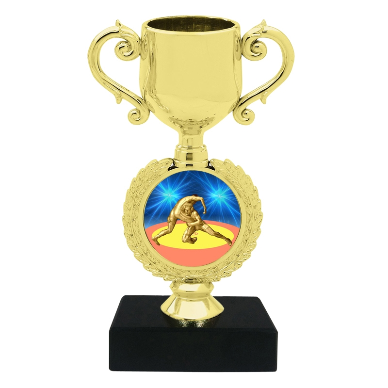Small Wrestling Trophy Cup