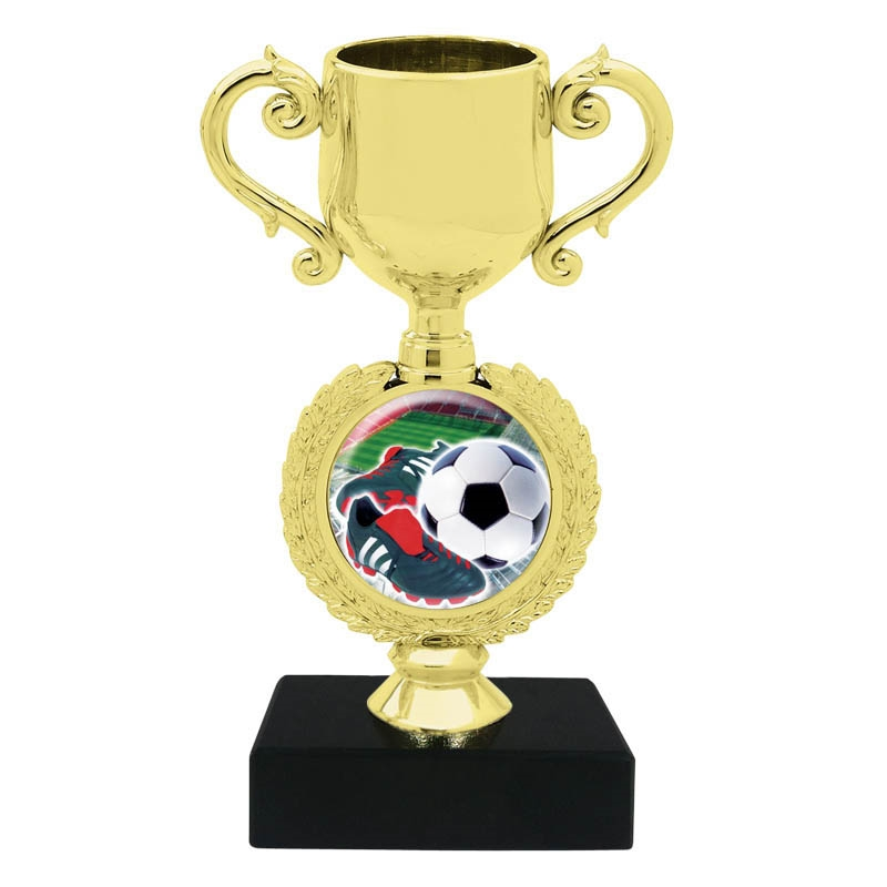 Soccer Cleat Trophy Cup