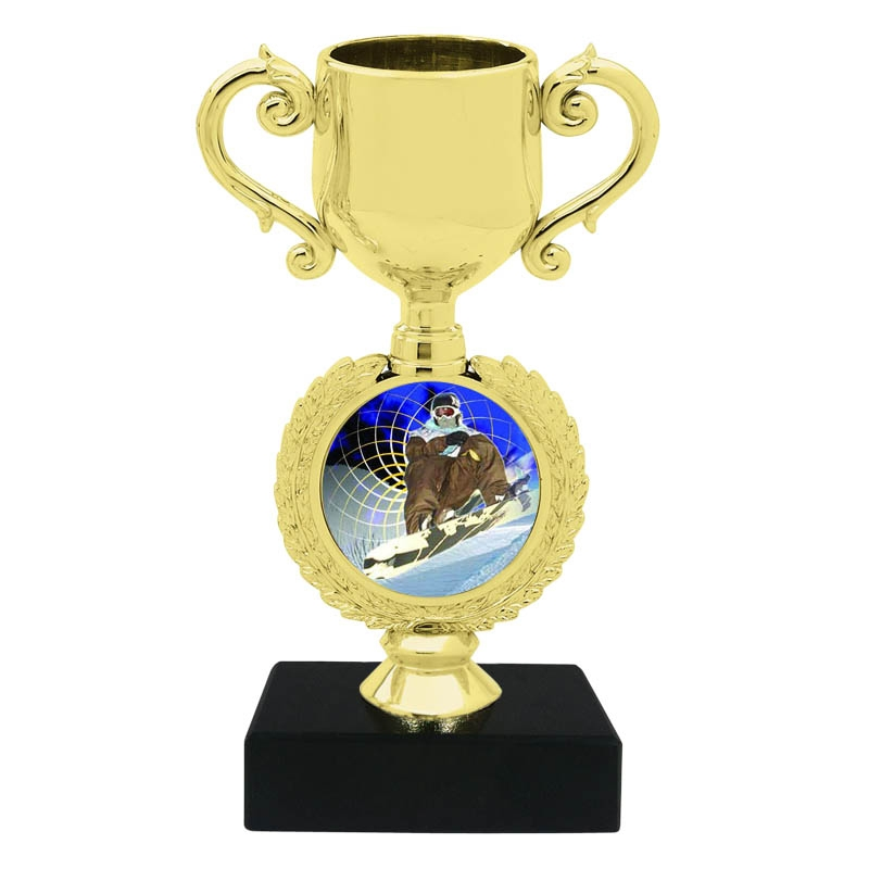 Snow Boarding Trophy Cup