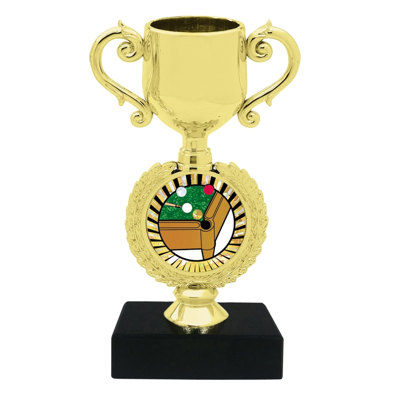Billiards Trophy Cup