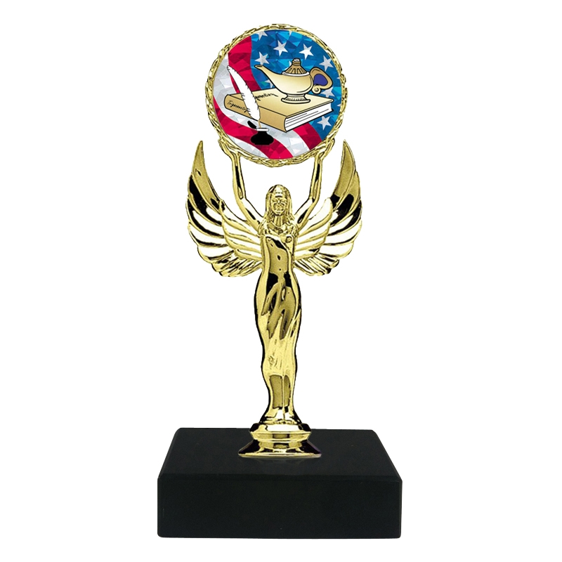 USA Lamp of Knowledge Trophy