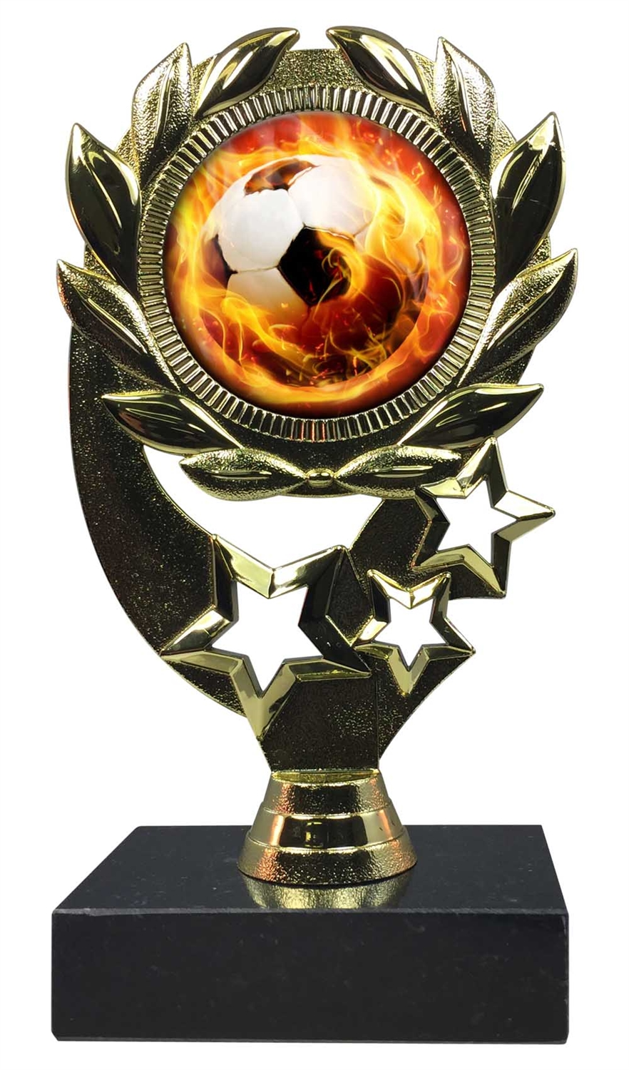 "6-1/4"" Blast Soccer Sport Wreath Trophy"