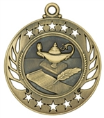"2-1/4"" Galaxy Lamp of Knowledge Medal GM107"