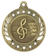 "2-1/4"" Galaxy Music Medal GM108"
