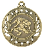 "2-1/4"" Galaxy Wrestling Medal GM118"