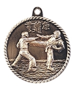 "2"" Karate Medal HR735"