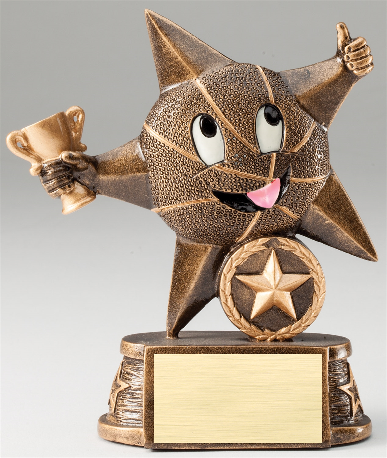 Lil' Star Series Basketball Trophy