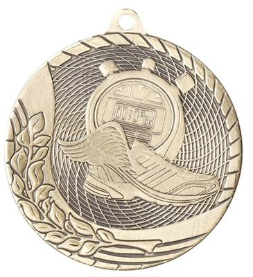 "2"" Economy Track Medal | Die-Cast Award | Express Medals M1216 Gold"