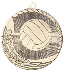 "2"" Economy Volleyball Medal M1217"