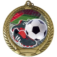 "2-3/4"" Full Color Series Soccer Cleat Medal MM292-FCL-41"