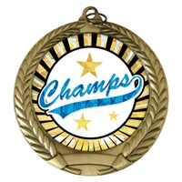 "2-3/4"" Champs SUNBURST Mylar Medal MM292-MY347"