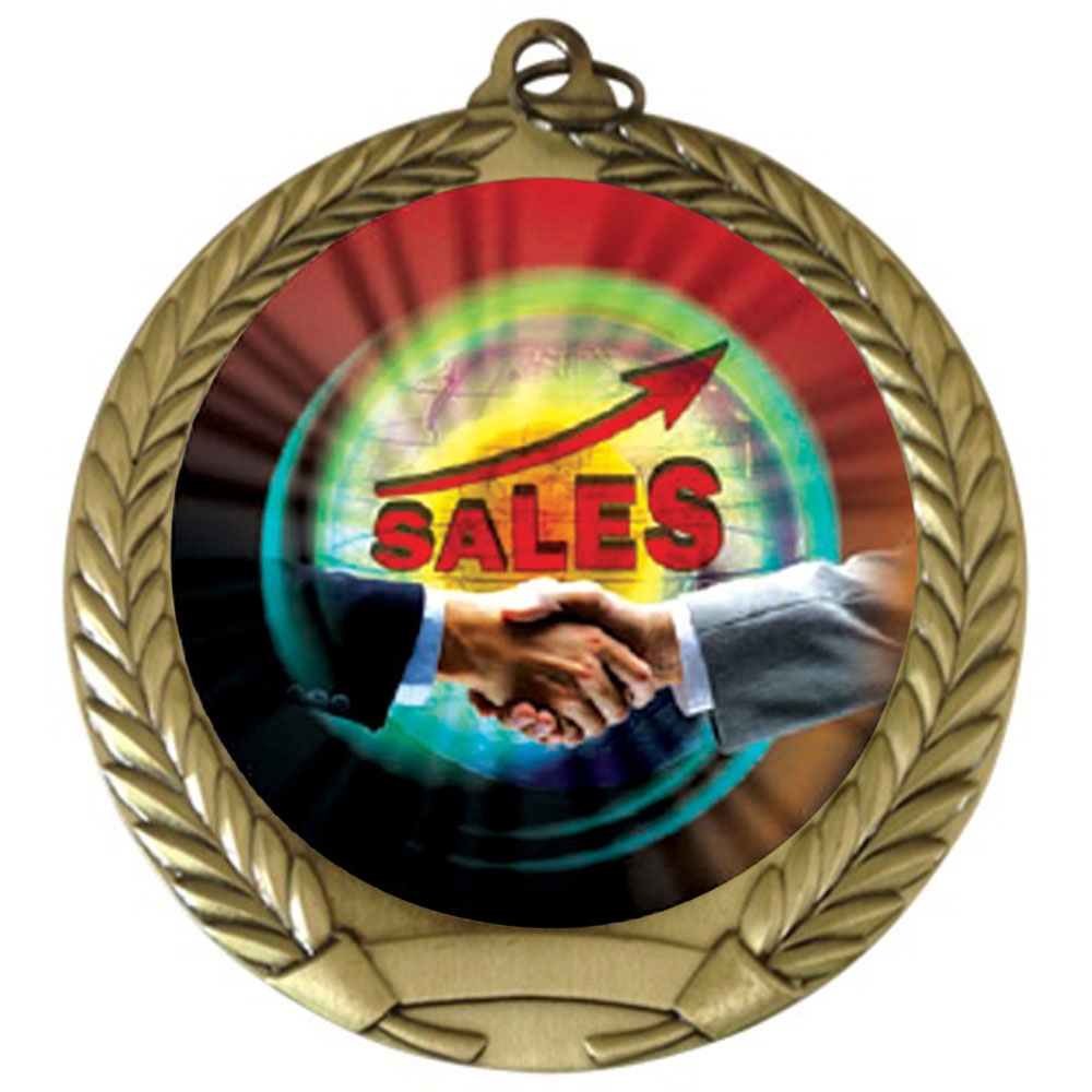 "2-3/4"" Top Sales Medal"