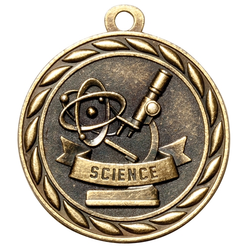 "2"" Scholastic Science Medal MS327"