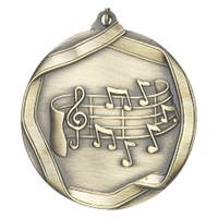 "2-1/4"" Music Medal MS659"