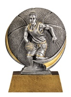 "5"" Motion Xtreme Boys Basketball Trophy"