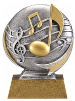 "5"" Motion Xtreme Music Trophy"