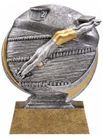 "5"" Motion Xtreme Boys Swimming Trophy"