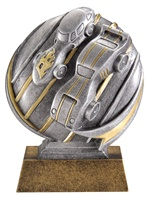 "5"" Motion Xtreme Pinewood Derby Trophy"