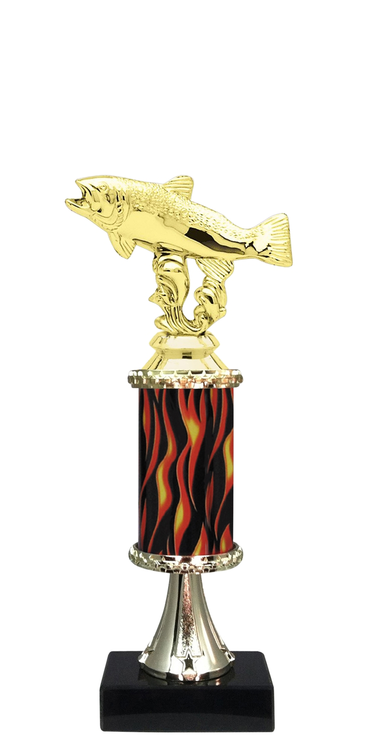Trout Trophy on Marble Base