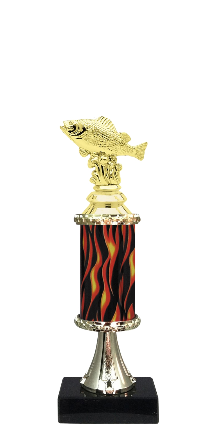 Perch Trophy on Marble Base