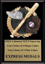 Full Color Baseball Plaque 4x6 & 5x7 PM660-VL