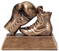 "5-1/2"" x 6-1/2"" Boxing Glove Trophy"