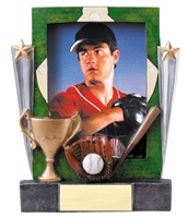 "7-1/4"" Baseball Photo Frame"