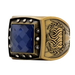 Championship Ring Synthetic Gem Stone