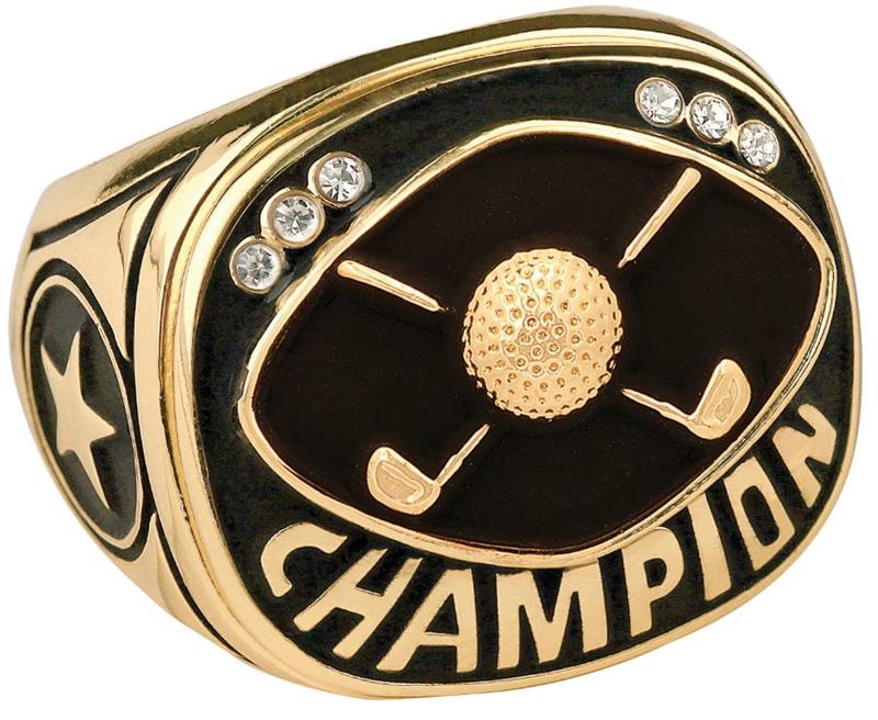Champion Golf Ring Championship Golf Ring Express Medals