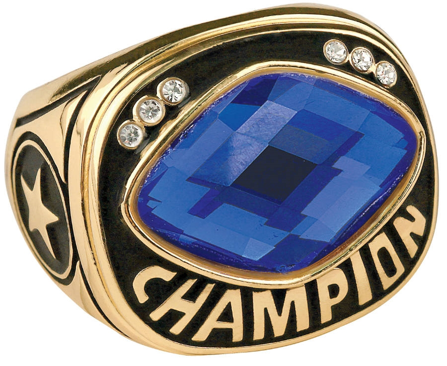 Champion Ring Synthetic Gem Stone