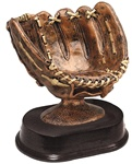 Baseball Holder Glove with Free Engraved Plate RX680AB
