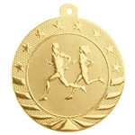 "2"" Starbrite Series Cross Country Medal SB154"