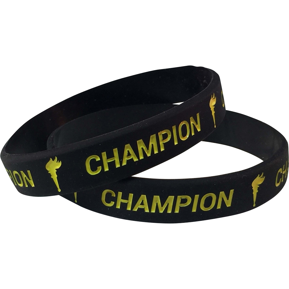 Silicone Champion Wrist Band