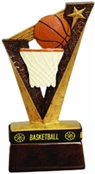 "6-1/2"" Basketball Trophybands Resin"